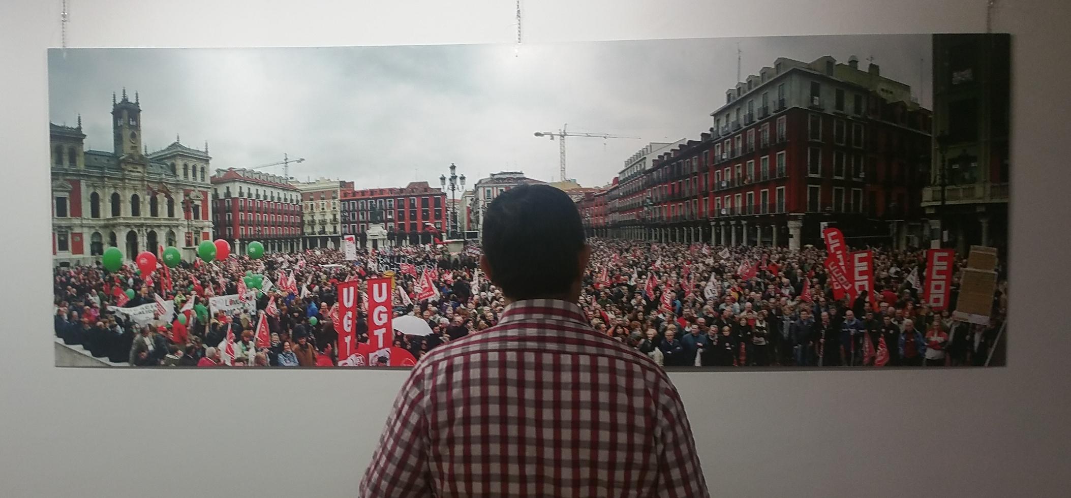 Exposición 40 años de CCOO de Castilla y León