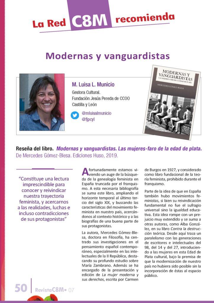 Modernas y vanguardistas