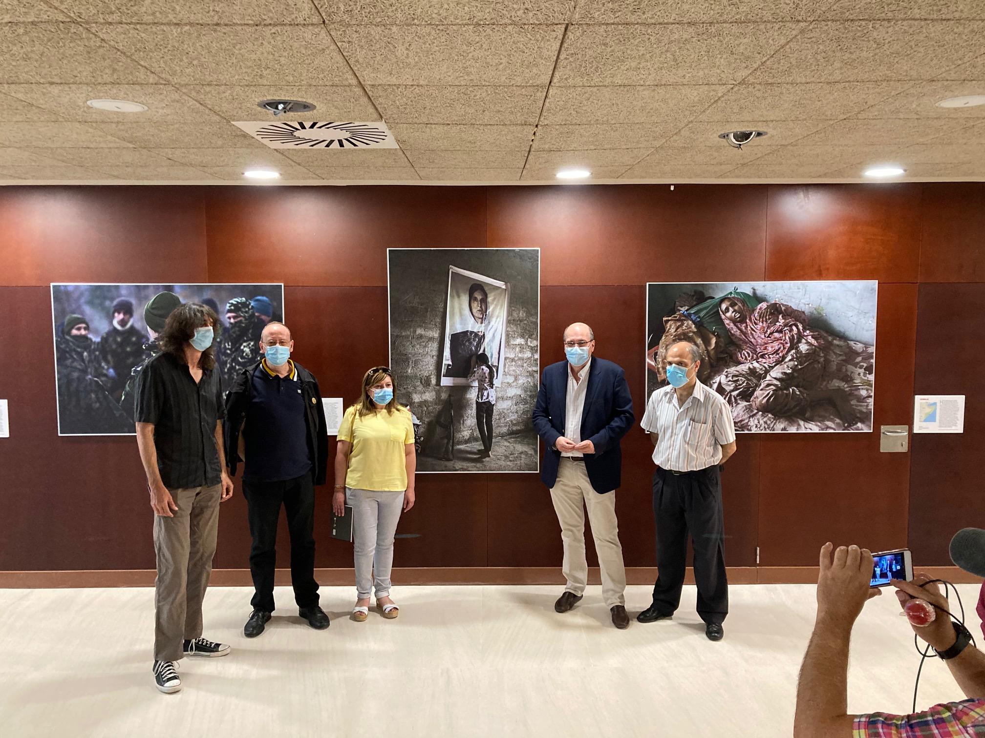 """La exposición """"Mujeres en conflicto"""" ya se puede visitar en Zamora"""
