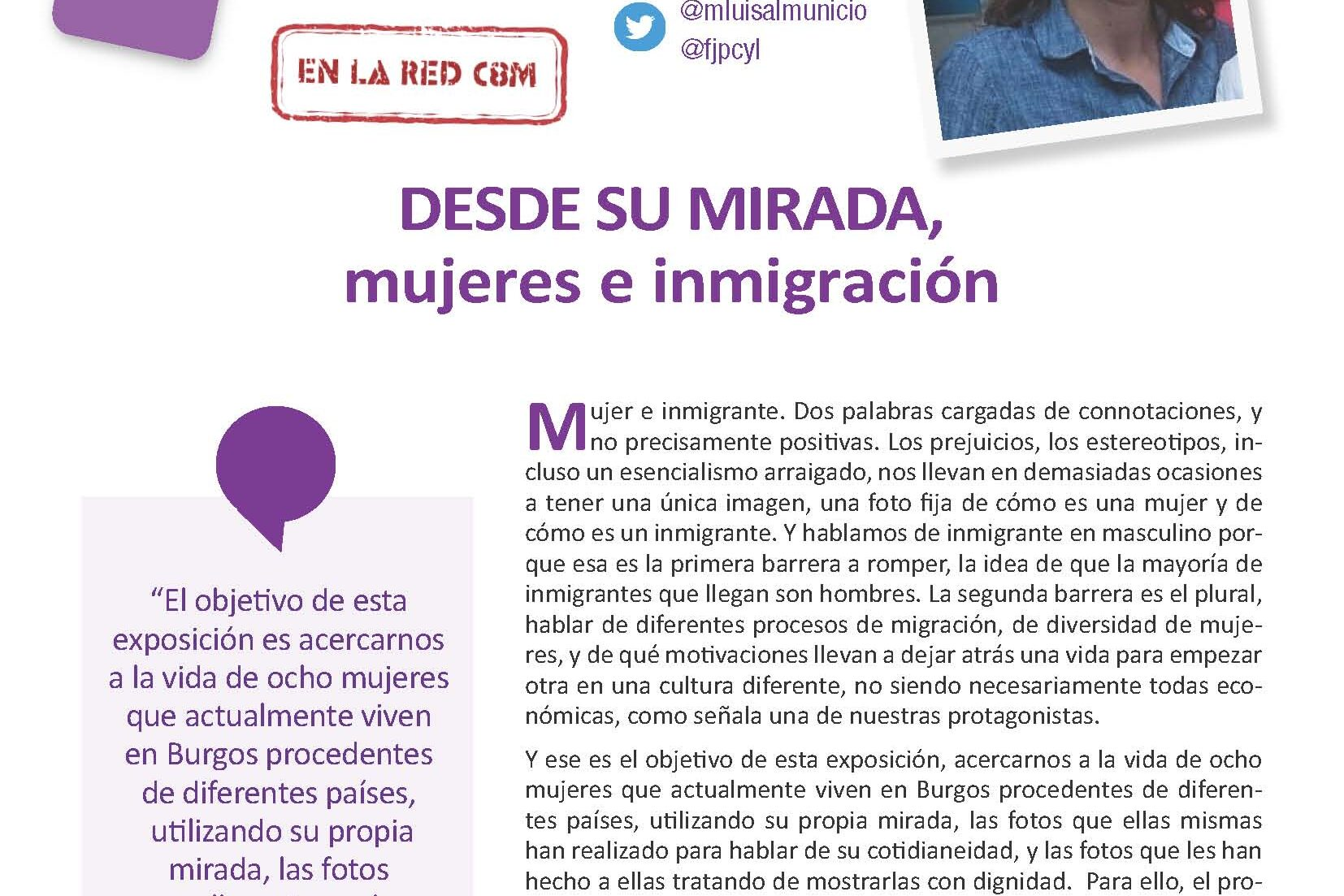 Mujeres e inmigración