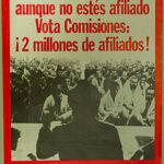 Vota a quien te defienda aunque no estés afiliado. Vota Comisiones ¡2 millones de afiliados!