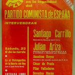 1 er. Mitin en la legalidad del Partido Comunista de España