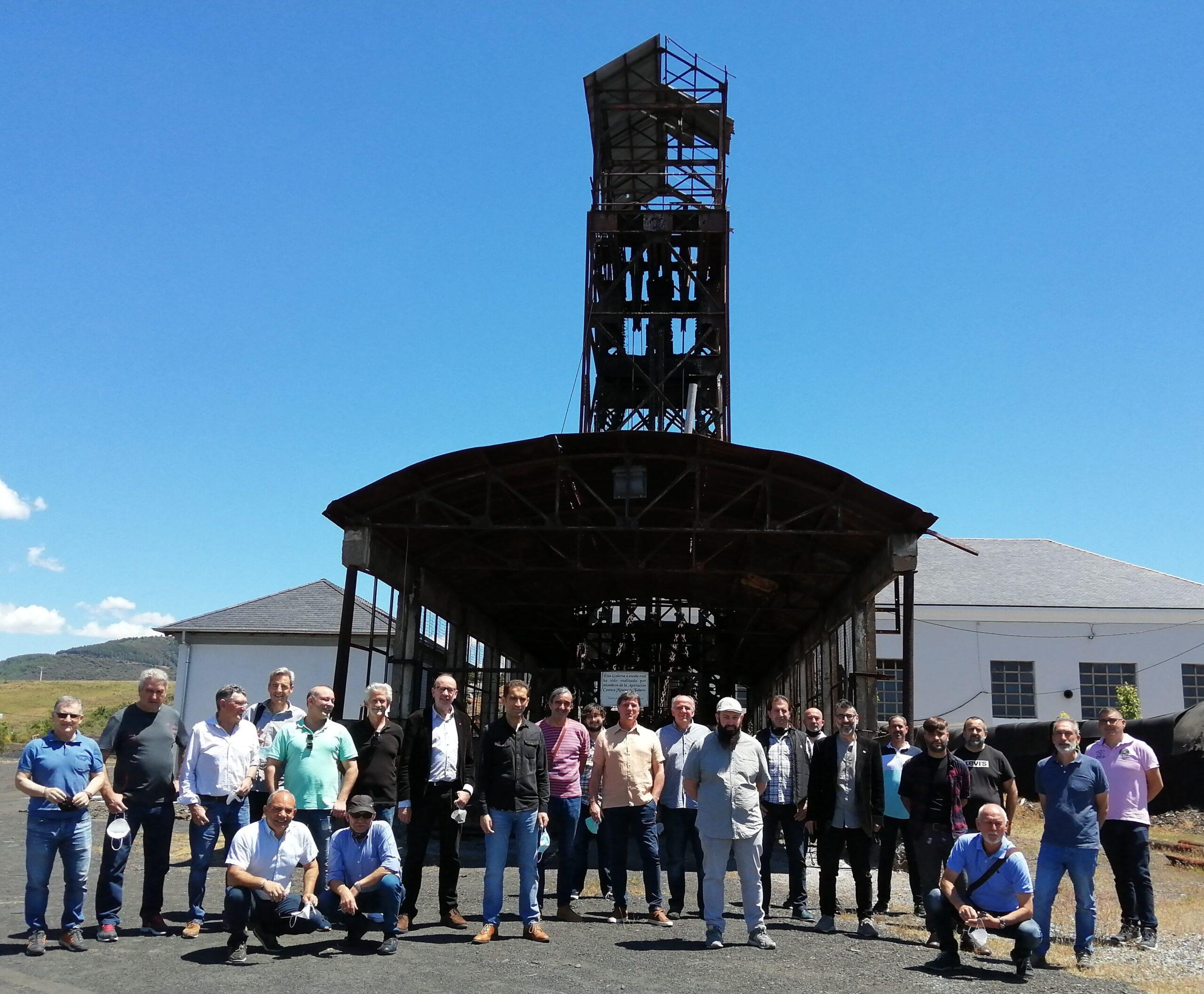 Reunión de las Secciones Sindicales de CCOO en el Archivo de la Minería de Fabero