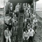 Los 38 mineros del pozo La Pozaca de Minas de Fabero – León
