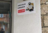Logotipo del Archivo Minero de CCOO en Fabero (León)
